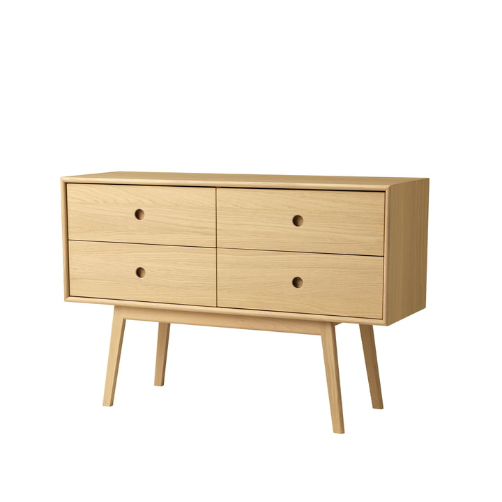 F22 Butler Sideboard from FDB Møbler in oak natural lacquered / natural
