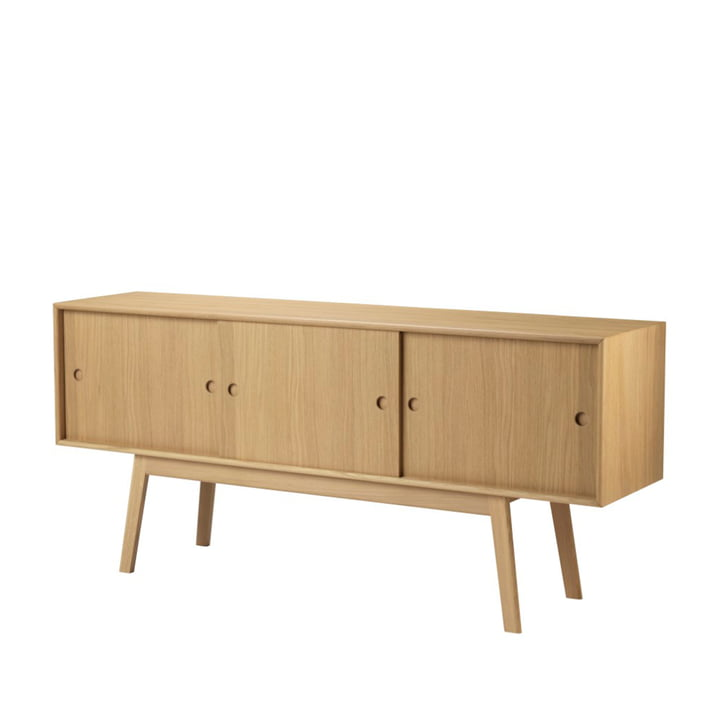 A85 Butler Sideboard from FDB Møbler in oak natural lacquered / natural