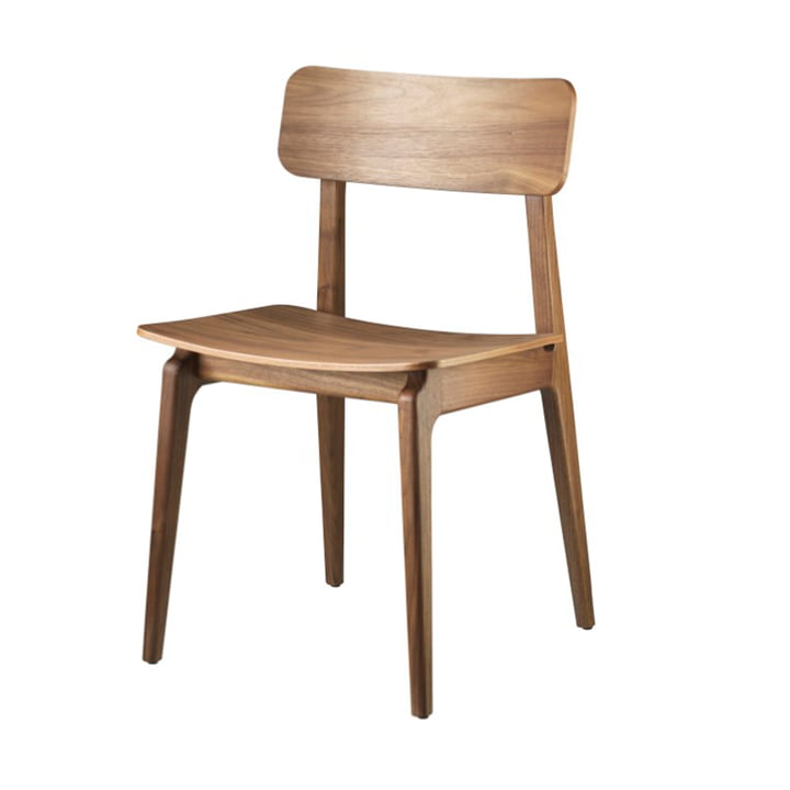 J175 Åstrup Chair from FDB Møbler in natural walnut