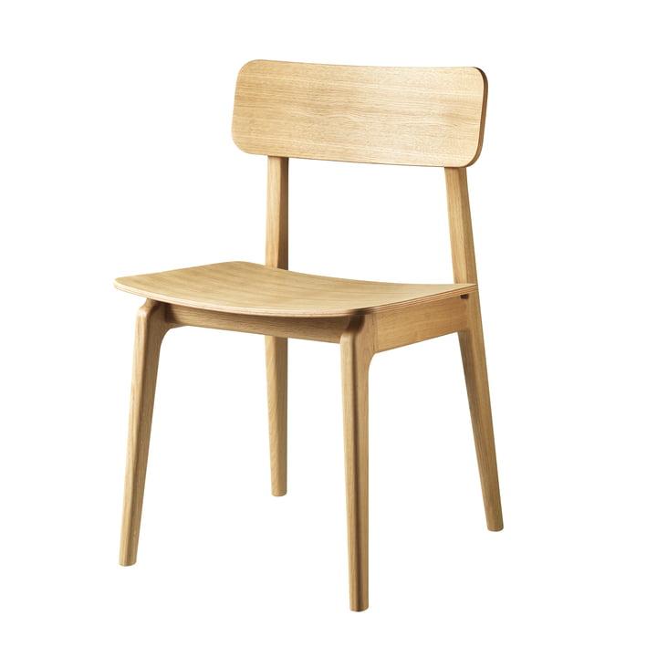 J175 Åstrup Chair from FDB Møbler in natural oak