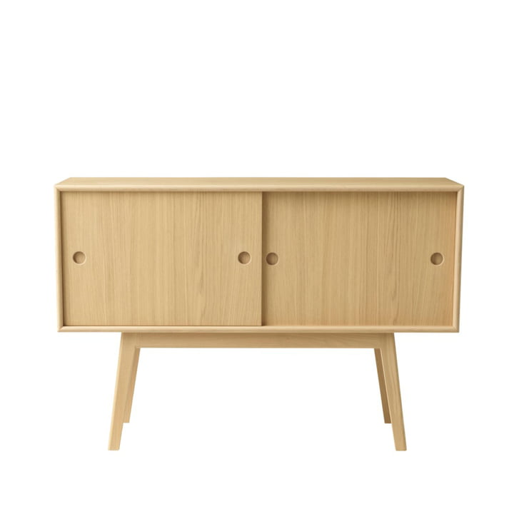 A83 Butler Sideboard from FDB Møbler in natural / natural oak