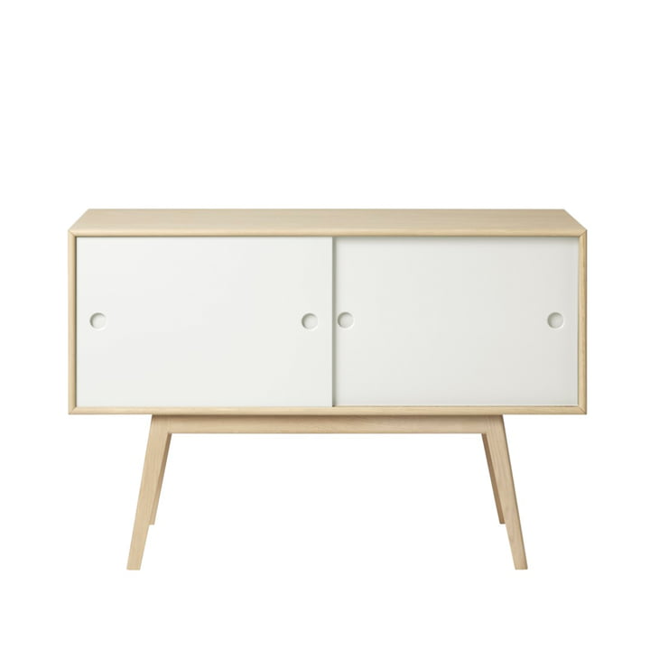 A83 Butler Sideboard from FDB Møbler in natural oak / white
