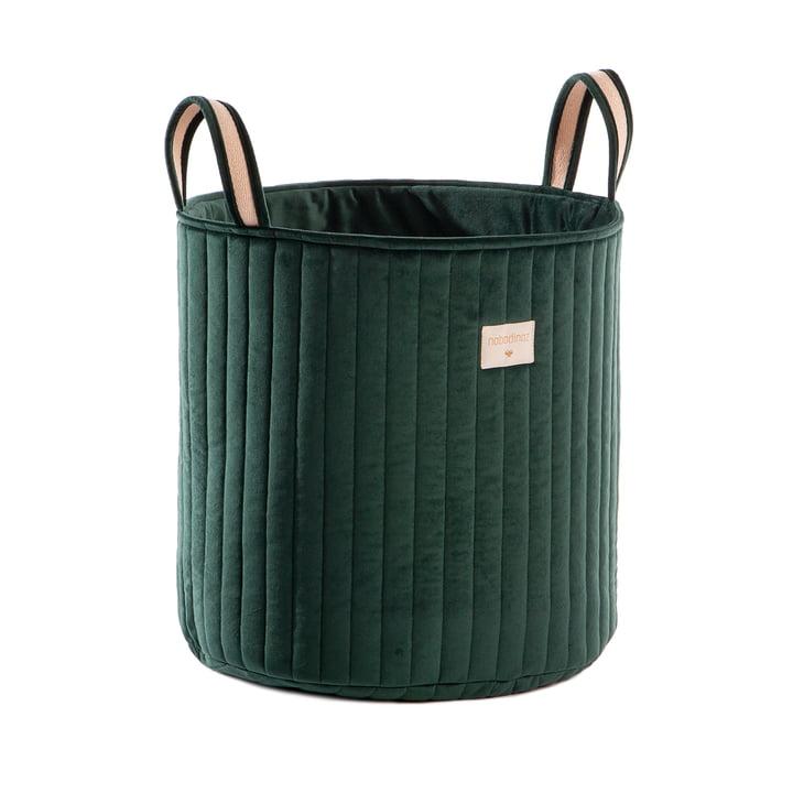 Savanna Storage basket, Ø 35 x H 40 cm by Nobodinoz in jungle green