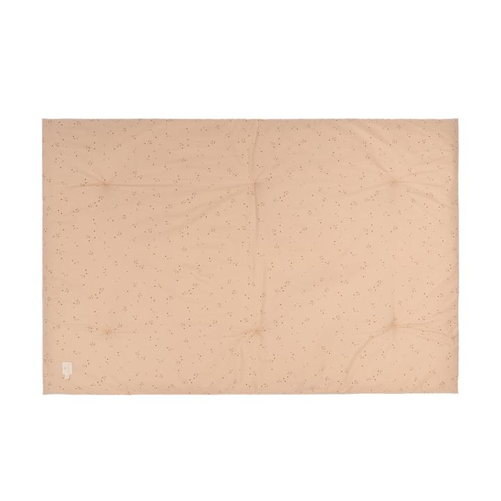 Eden Futon Play mat 100 x 148 cm from Nobodinoz in willow dune