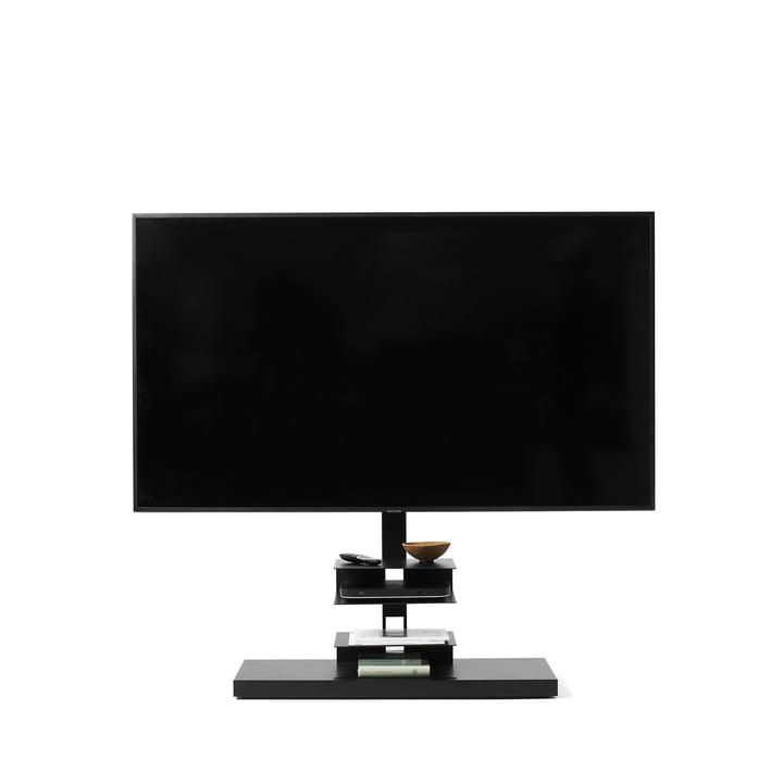 Ptolomeo TV Smart TV stand from Opinion Ciatti in matt black