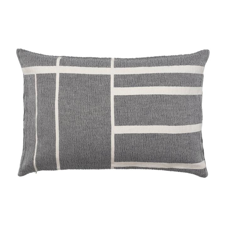 Architecture Cushion 40 x 60 cm from Kristina Dam Studio in off-white / black