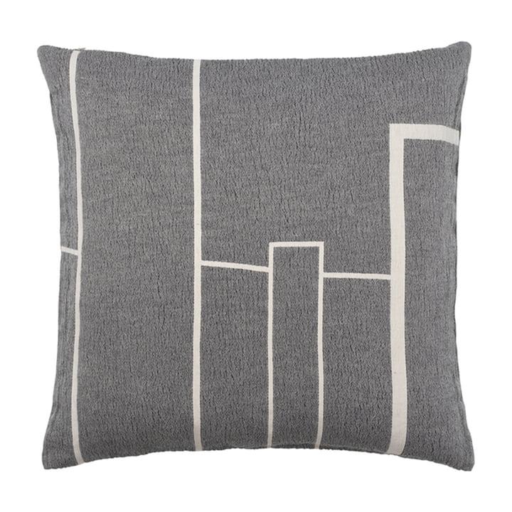 Architecture Cushion 60 x 60 cm from Kristina Dam Studio in off-white / black