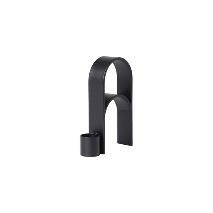 Arch Candleholder Vol. 3 from Kristina Dam Studio in black