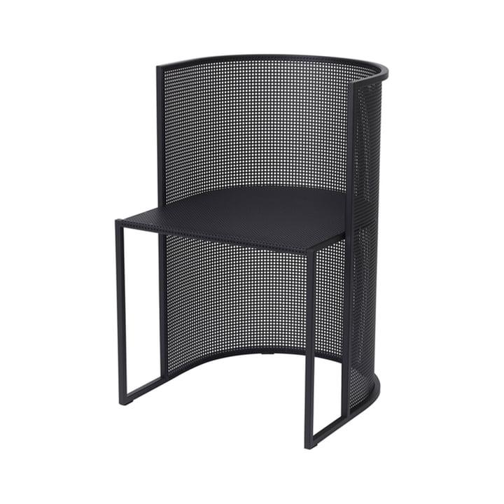 Bauhaus Chair Outdoor from Kristina Dam Studio in black