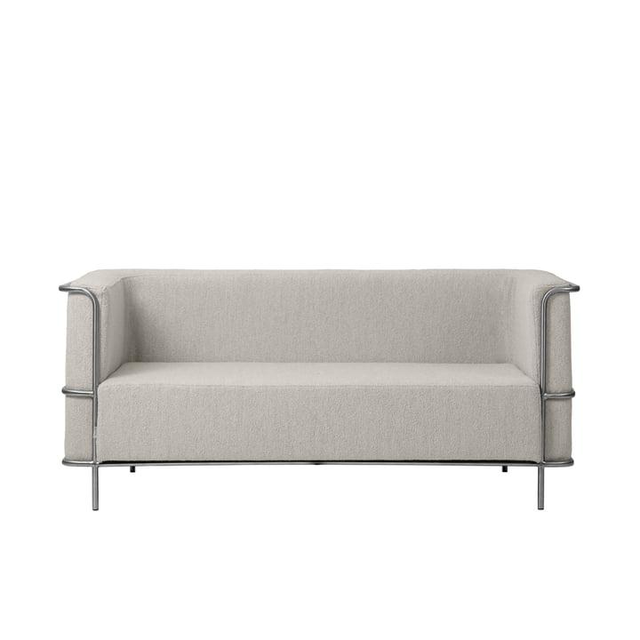 Modernist Sofa 2-seater from Kristina Dam Studio in beige (Bouclé)