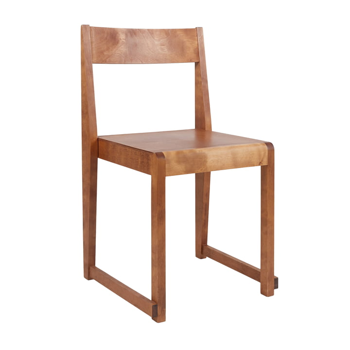 Chair 01 from Frama in birch oiled / warm brown