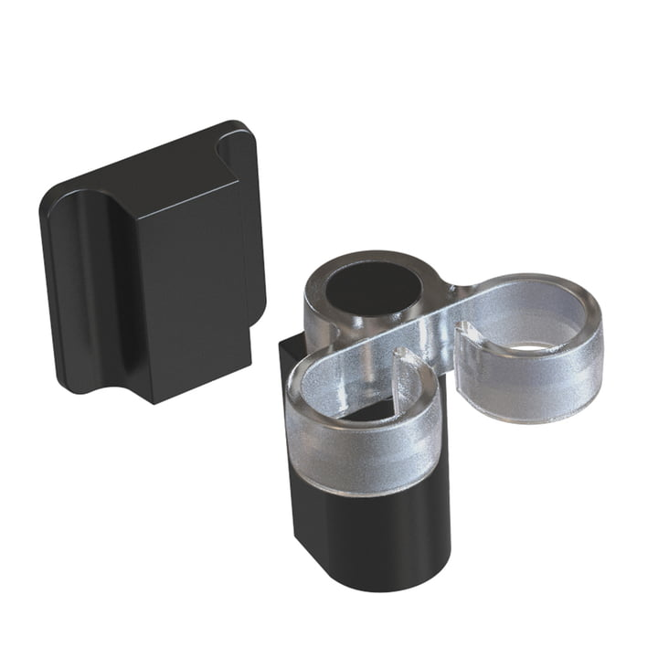 The sink brush holder from Happy Sinks by Magisso , pure black