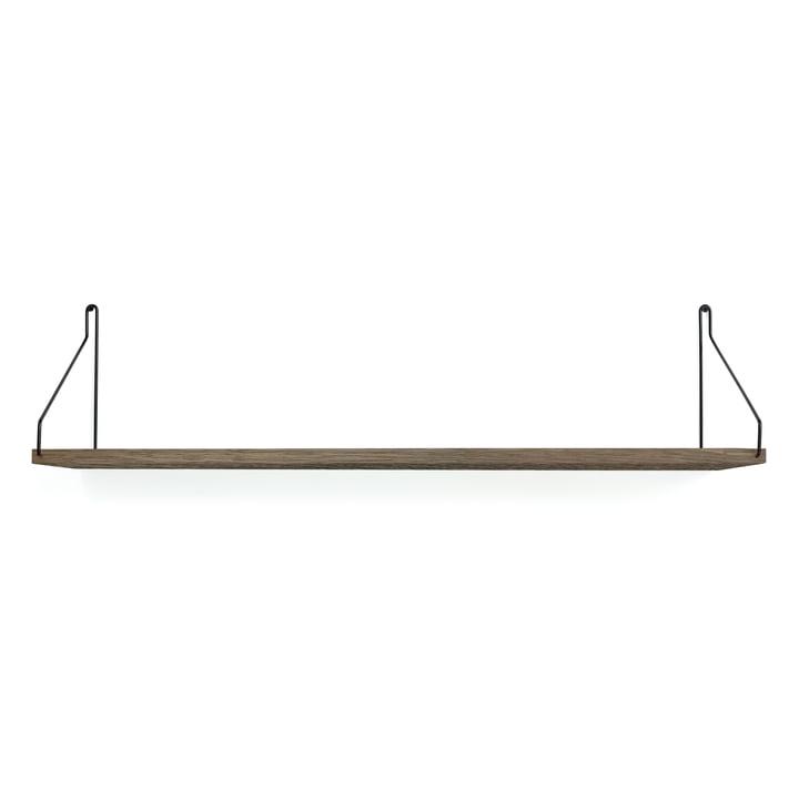 Shelf Shelf 80 x 20 cm from Frama in dark oiled oak / black