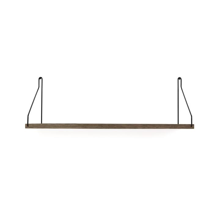 Shelf Shelf 60 x 20 cm from Frama in dark oiled oak / black