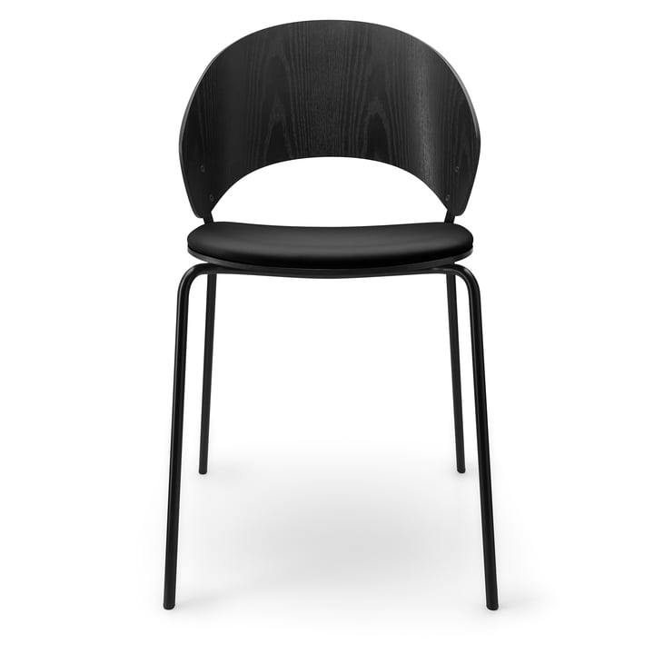 The Dosina chair with seat cushion from Eva Solo , black