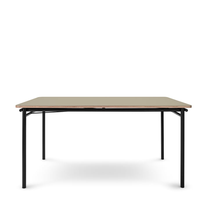 The Taffel dining table (extendable) from Eva Solo , 90 x 150-210 cm, pebble