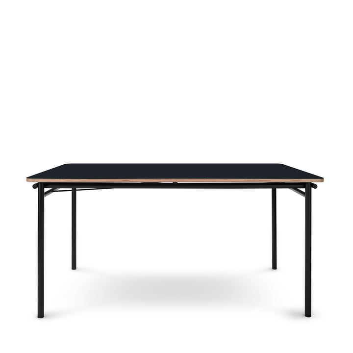 The Taffel dining table (extendable) from Eva Solo , 90 x 150-210 cm, nero