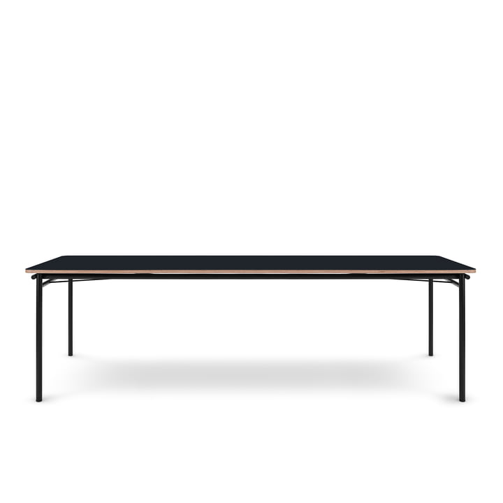 The Taffel dining table (extendable) from Eva Solo , 90 x 200-320 cm, nero