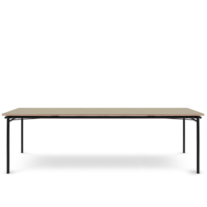 The Taffel dining table (extendable) from Eva Solo , 90 x 250-370 cm, pebble