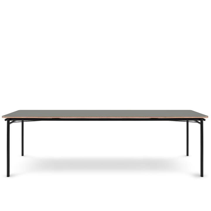 The Taffel dining table (extendable) from Eva Solo , 90 x 250-370 cm, ash