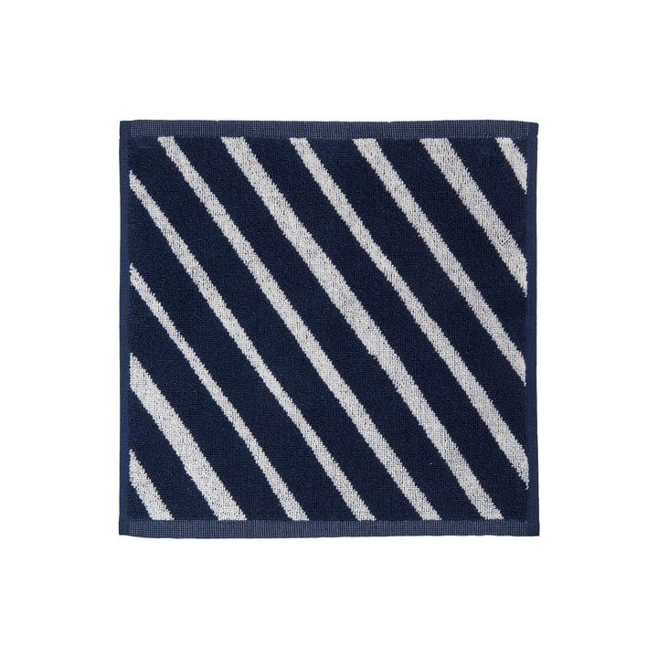 Kalasääski Mini towel from Marimekko in the colours dark blue / off-white
