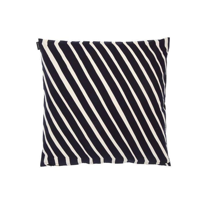 Kalasääski Pillowcase from Marimekko in the colours cotton white / dark grey