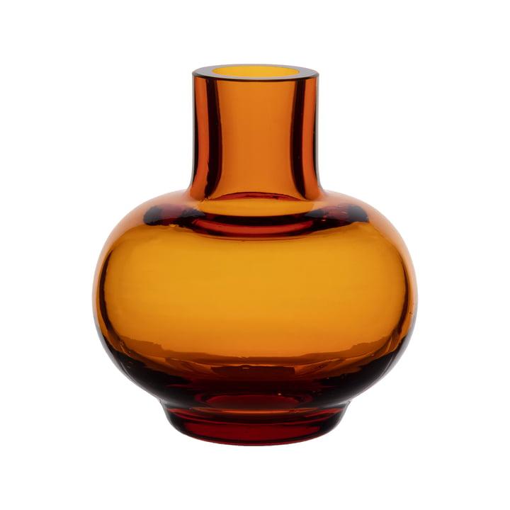 Mini vase from Marimekko in color amber