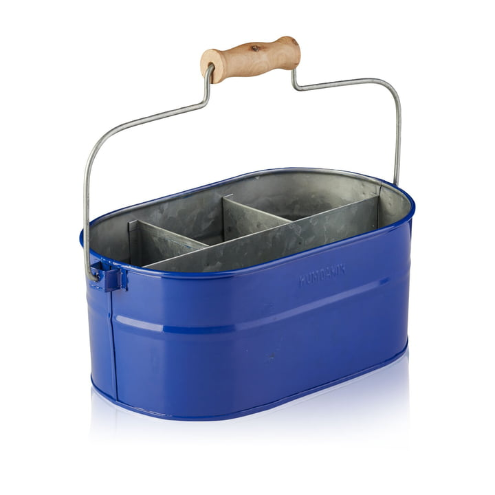 The Humdakin utensil container, 30 x 19 x 13 cm, blue