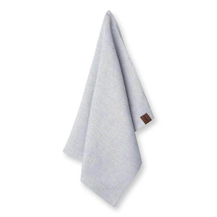 The Beach linen tea towel from Humdakin, 45 x 70 cm, ocean