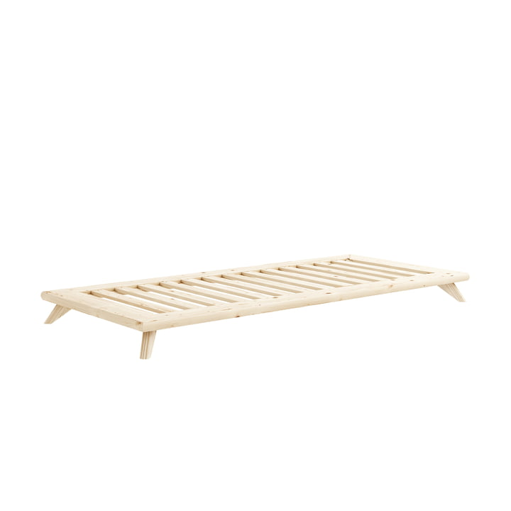 Senza Bed 90 x 200 cm from Karup Design in pine nature