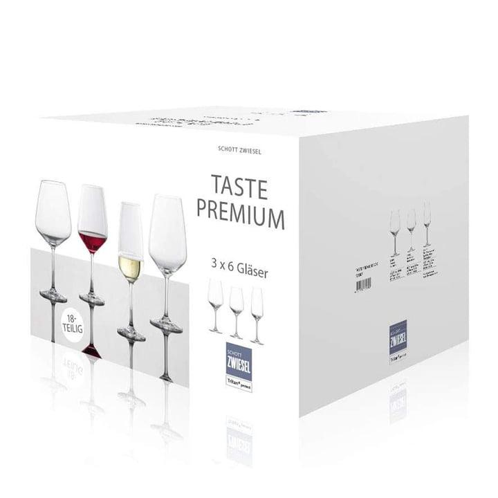 Taste Glasses set (18 pcs.) from Schott Zwiesel
