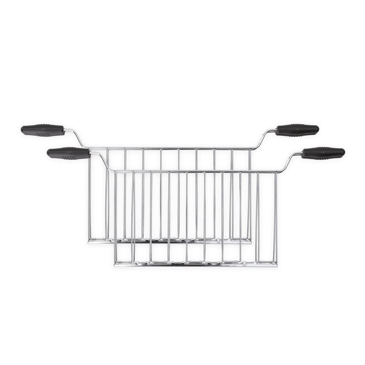 Sandwich tongs for 4-slice toaster TSF02 from Smeg in silver