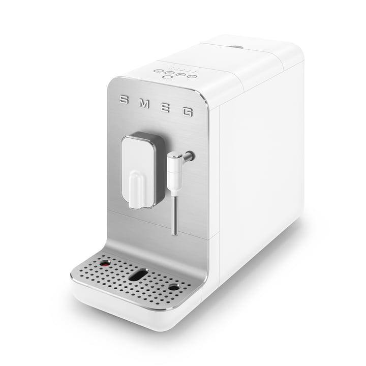 Fully automatic coffee machine BCC02 Medium 50's Retro Style from Smeg in white matt
