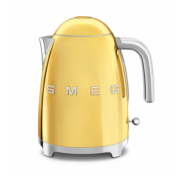 Kettle 1,7 l ( KLF03 ) from Smeg in gold