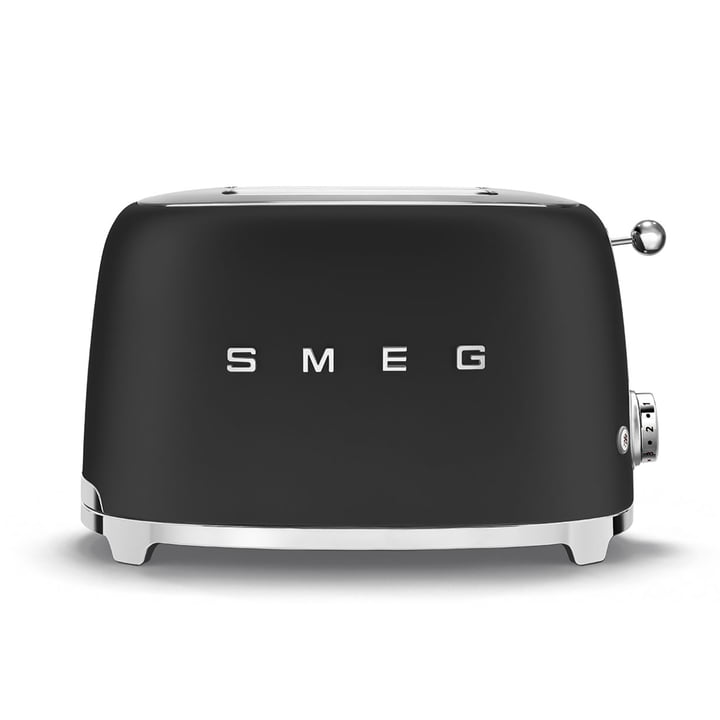 2-slice toaster TSF01 from Smeg in matt black