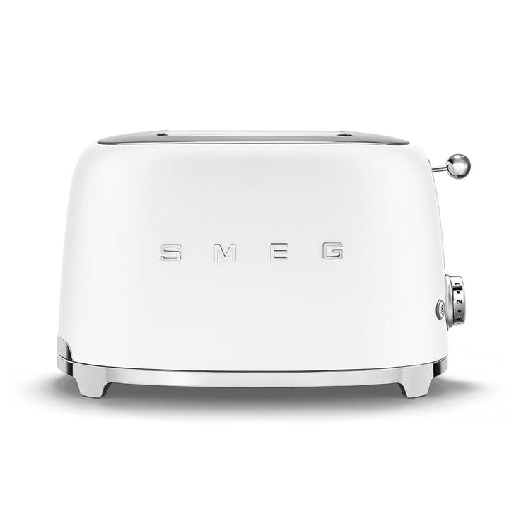 2-slice toaster TSF01 from Smeg in matt white