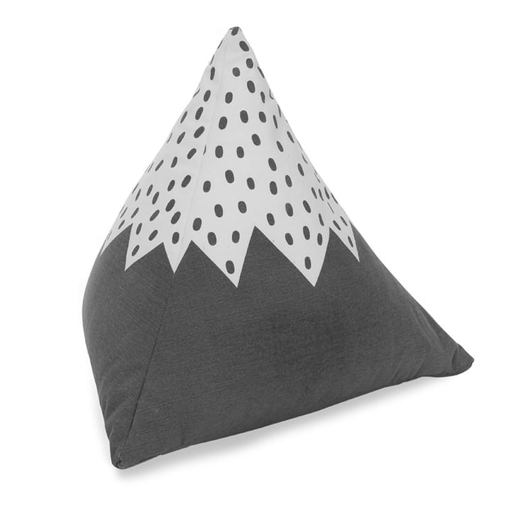Mountain Cushion 50 x 50 x 50 cm from Södahl in grey