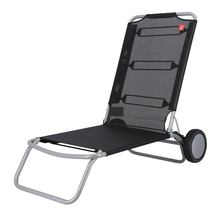 Fiam - Wheely Beach chair, black