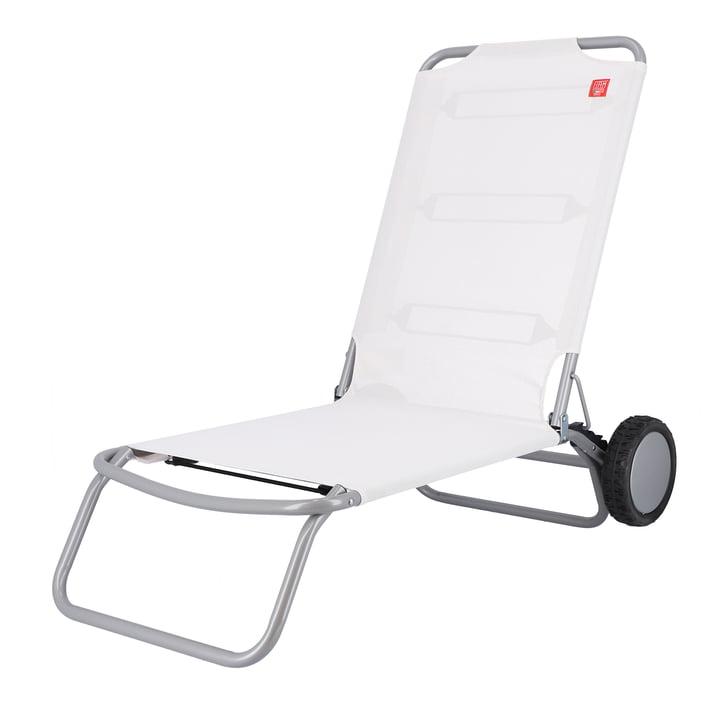 Fiam - Wheely Beach chair, white