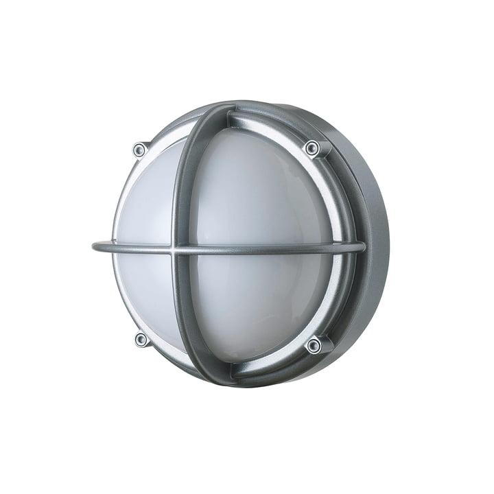 Skot LED Outdoor Wall lamp 3000 K 6. 5 W, aluminium / opal white from Louis Poulsen