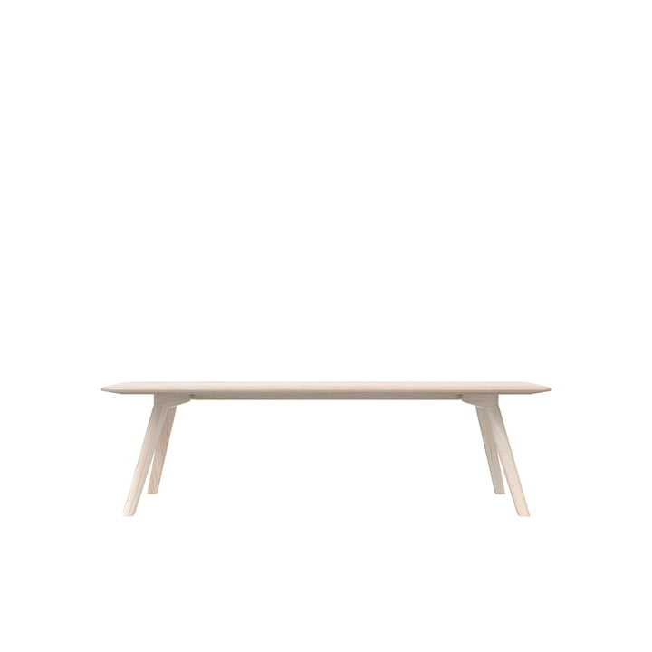 Meyer Bench Medium 160 cm, ash waxed with white pigment from Objekte unserer Tage