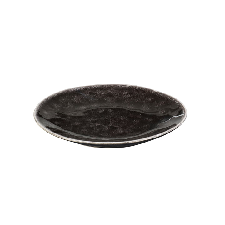 The Nordic Coal plate from Broste Copenhagen , Ø 15 cm
