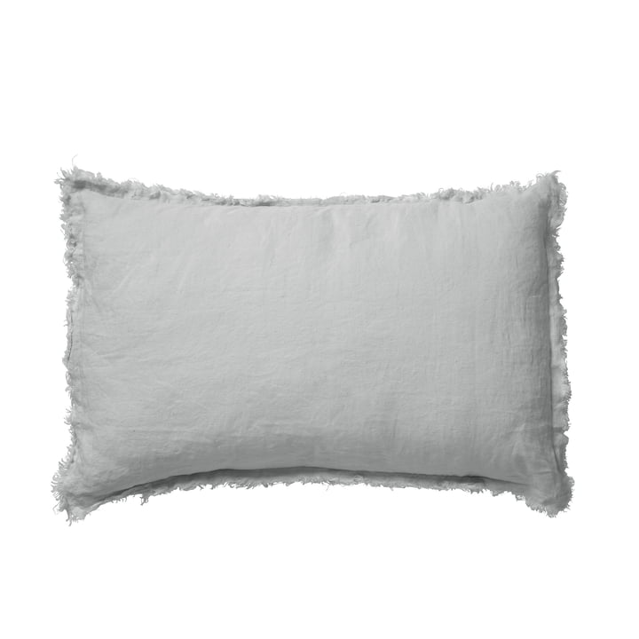 Malaga Pillowcase 40 x 60 cm, cloudy grey from Passion for Linen