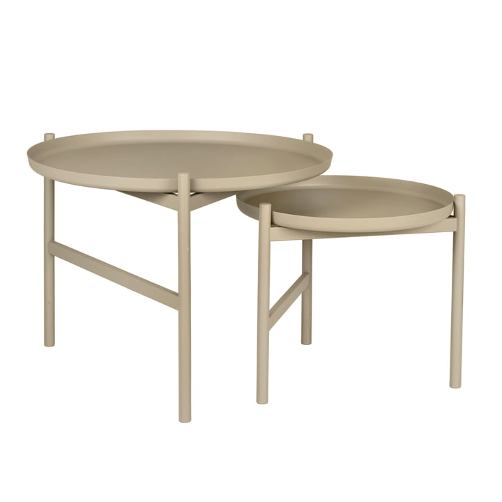 The Turner side table from Broste Copenhagen with 2 table tops