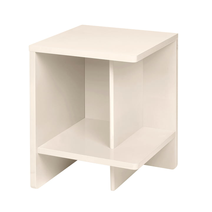 Tenna Bedside table, right from Broste Copenhagen in rainy day