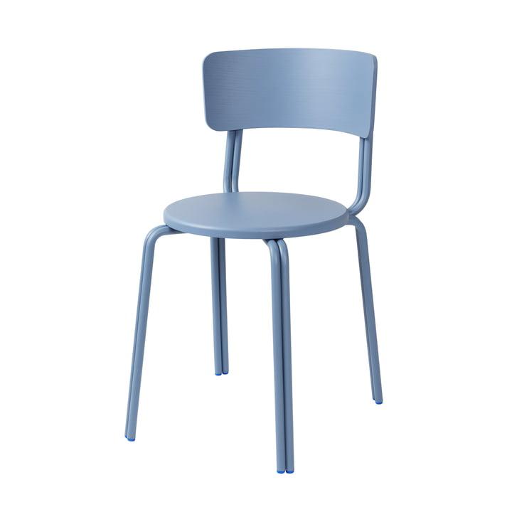 Oda Chair from Broste Copenhagen in blue