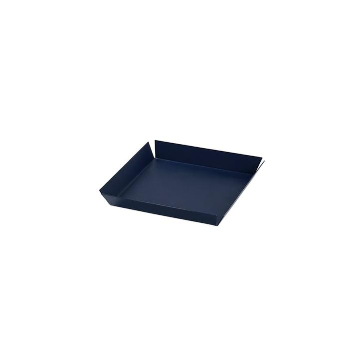 Erika Serving tray, 14 x 14 cm from Broste Copenhagen in maritime blue