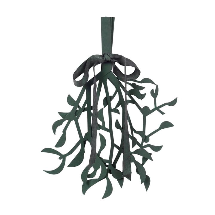 Broste Copenhagen - Christmas Mistletoe Decorative pendant, deep forest