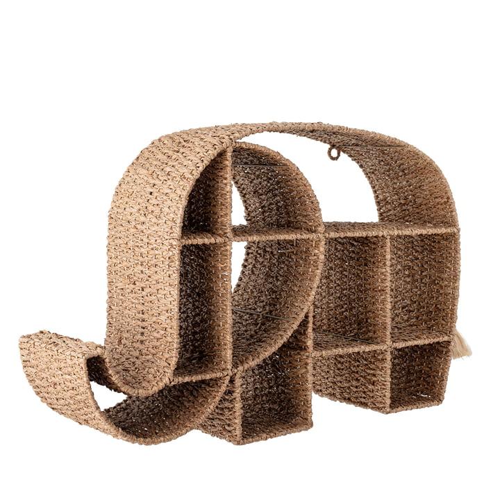 Elmar Shelf from Bloomingville made of Bankuan grass natural