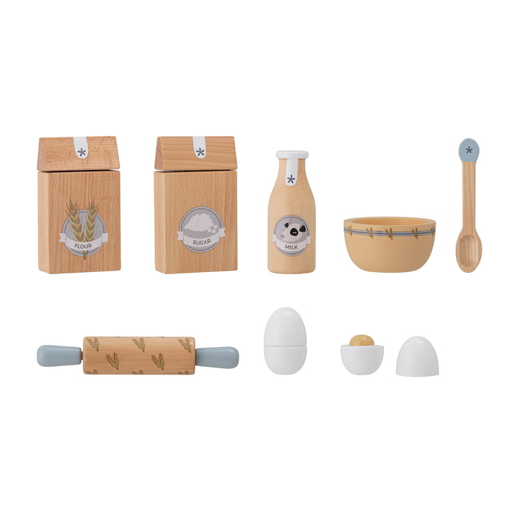 Konrad Toys from Bloomingville made of natural beech (8 pieces)
